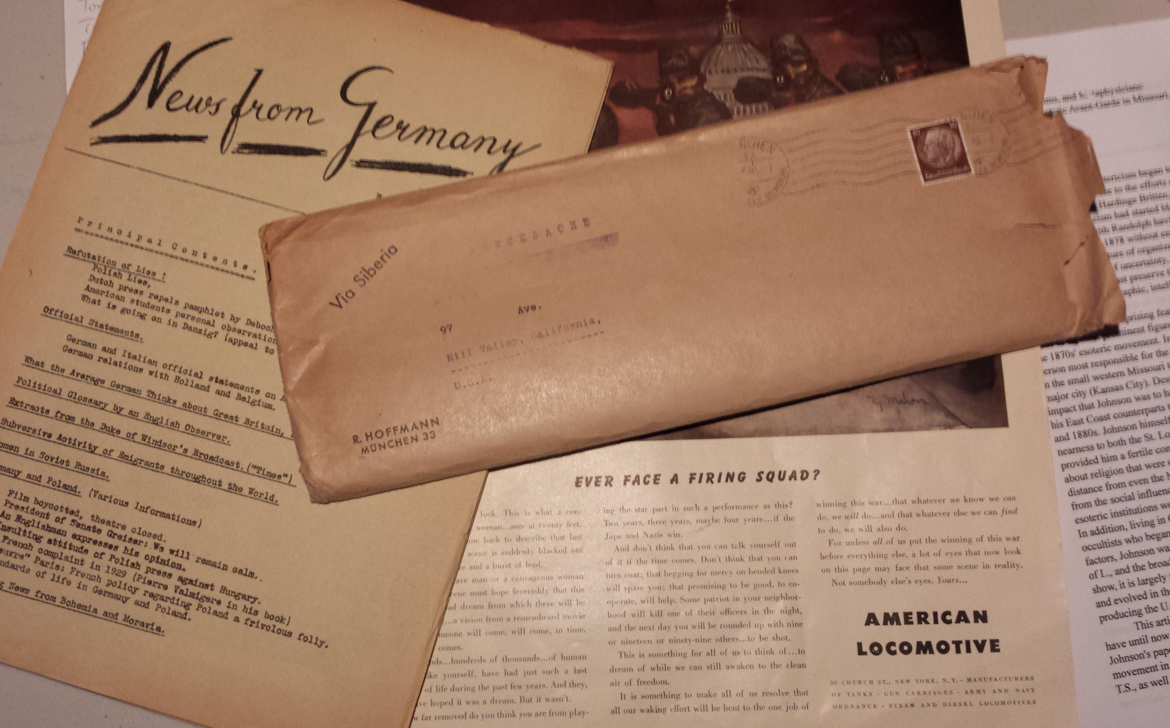 Uncle Sam Does Not Censor Your Ernest Busenbark | Chasing Down Emma